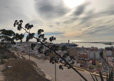 El Puerto desde la Alcazaba de Almería (2)
