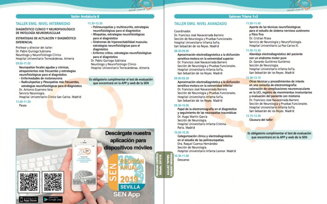 LXXI reunión de la Sociedad Española de Neurología