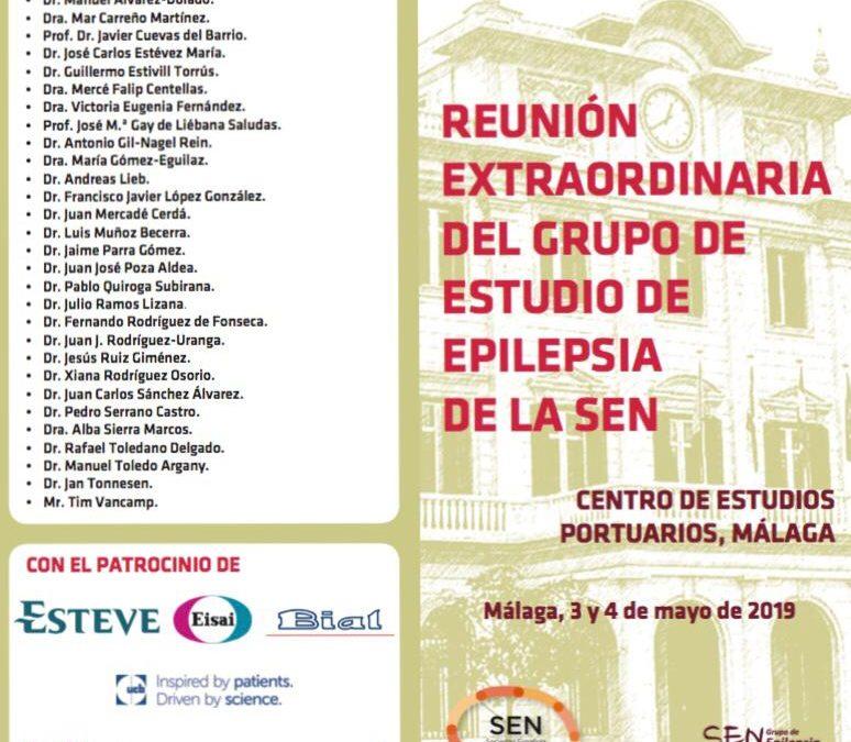 Reunión extraordinaria del grupo de estudio de epilepsia de la sen