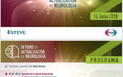 IV foro de actuación en Neurología