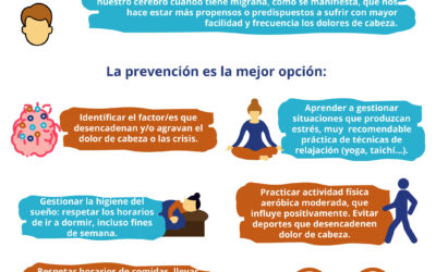 Consejos no farmacológicos para el control adecuado del dolor de cabeza y/o migraña