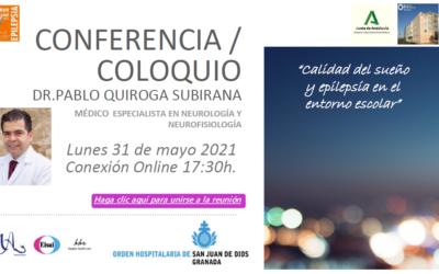 Conferencia/Coloquio ´Calidad del sueño y epilepsia en el entorno escolar´
